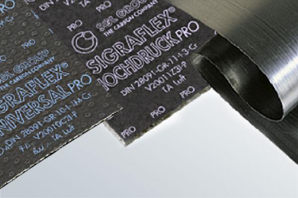 SIGRAFLEX Esnek Grafitten Imal Edilmiş Sızdırmazlık Malzemeleri